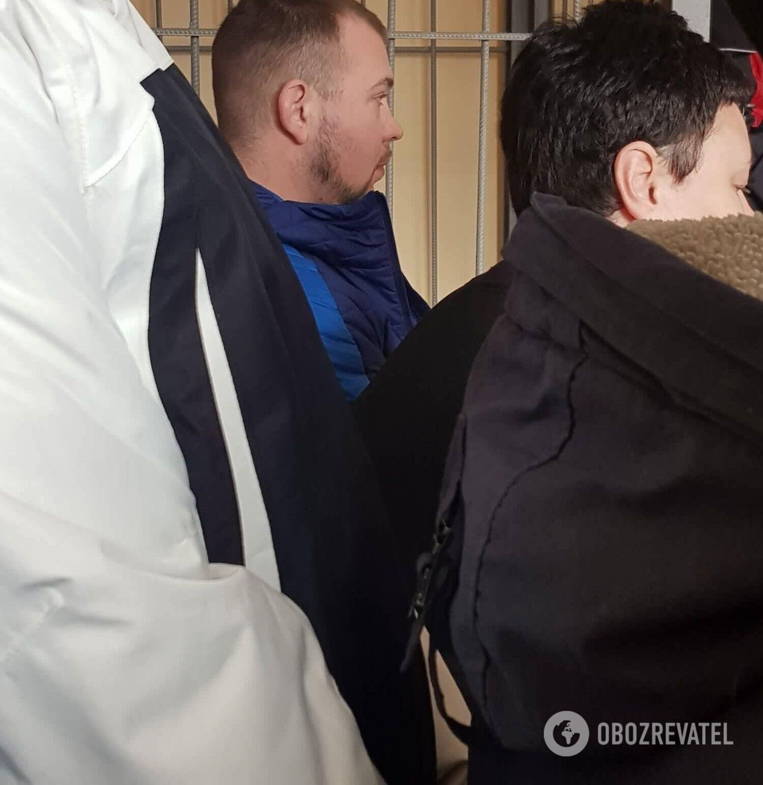 Сергій Стрельцов на суді в Кам'янському
