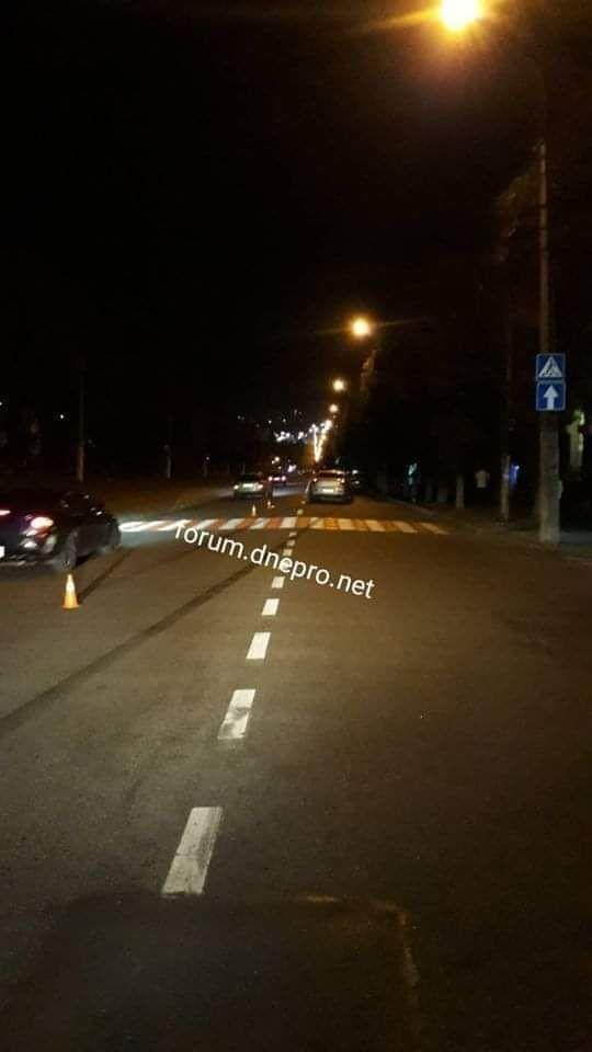 """У Кам'янському на """"зебрі"""" збили двох жінок з 4-річною дитиною. Фото """"Forum.dnepro.net"""""""