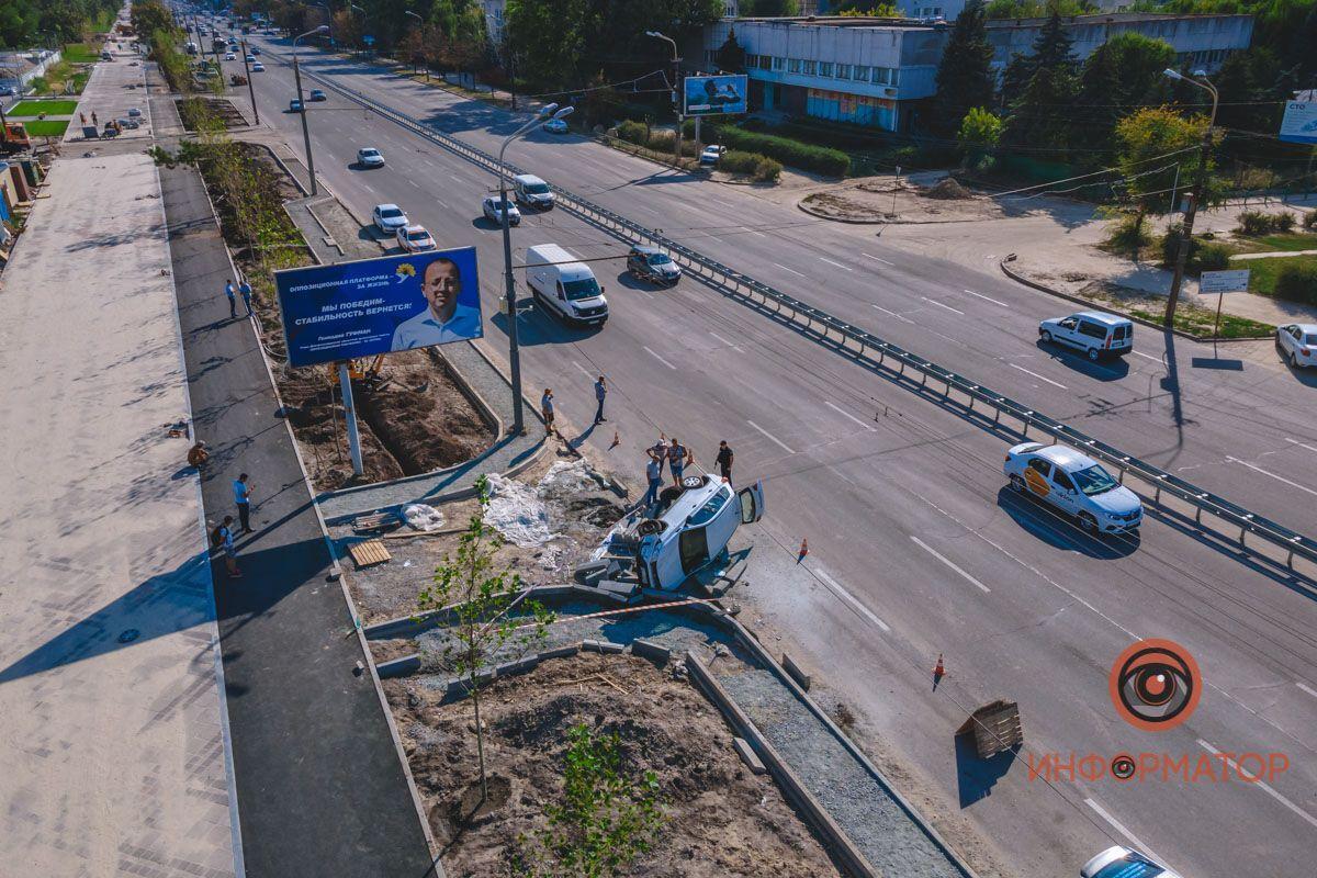 На місці аварії працювала поліція