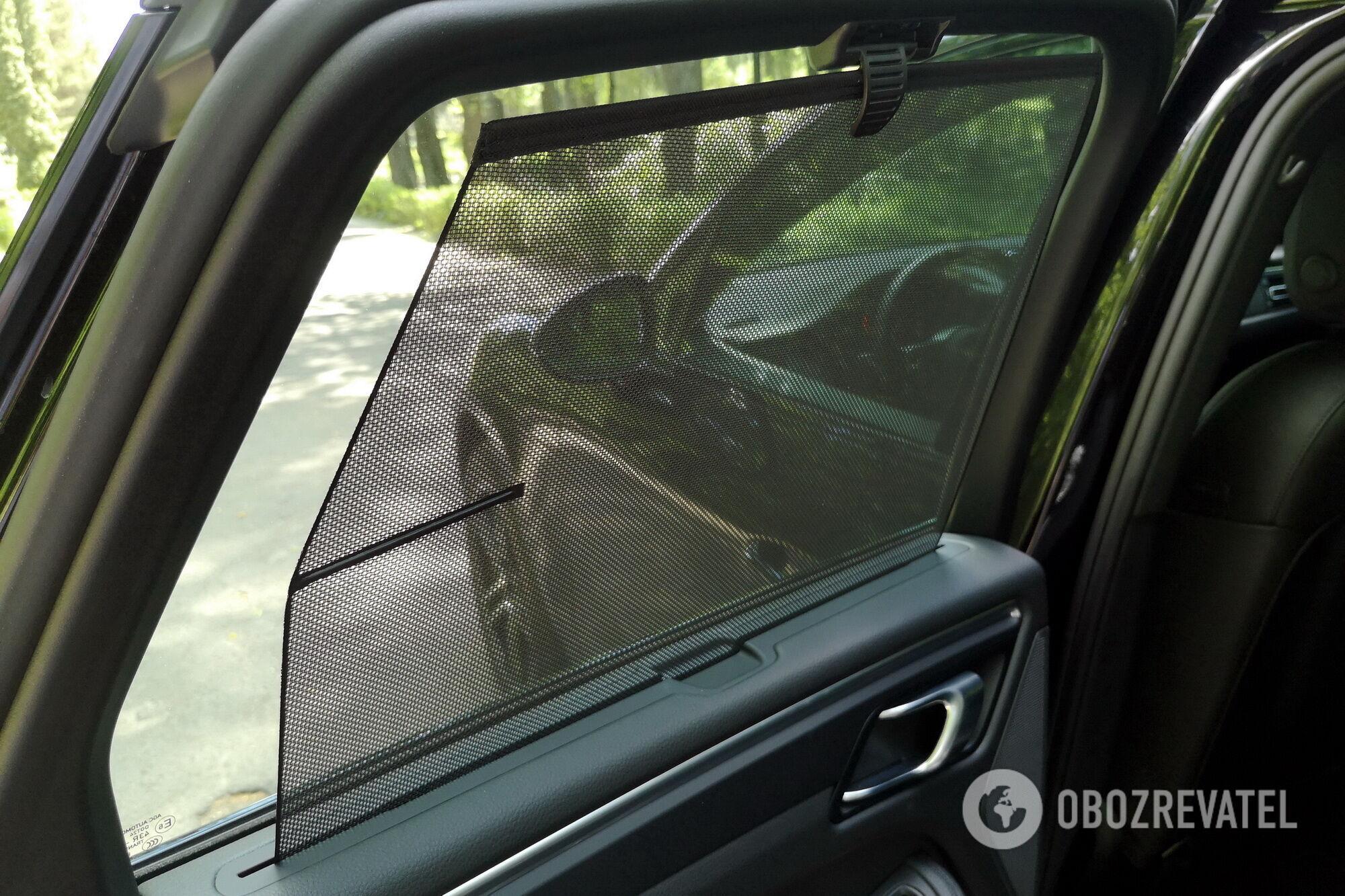 А приватность обеспечат шторки на задних боковых стеклах. Фото: