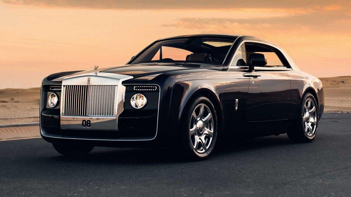 Rolls-Royce Sweptail.