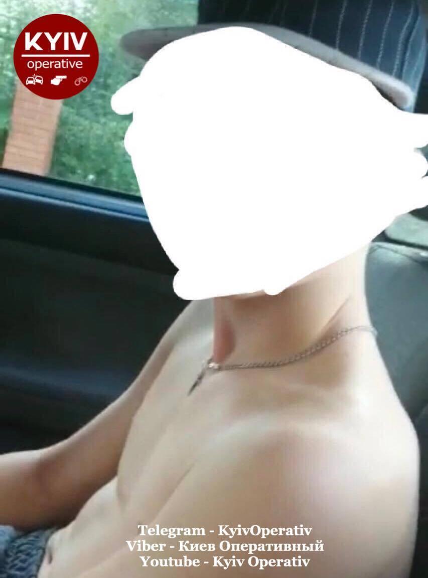 В Киеве поймали педофила.