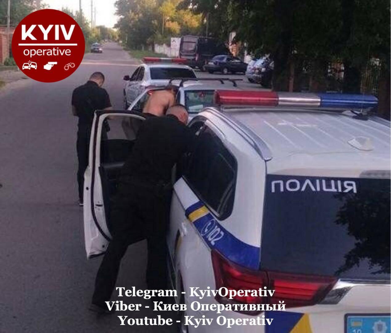 Мужчину задержали по улице Балукова.