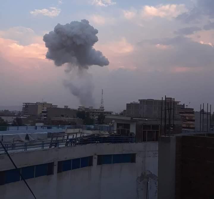 В Джелалабаде прогремел взрыв.