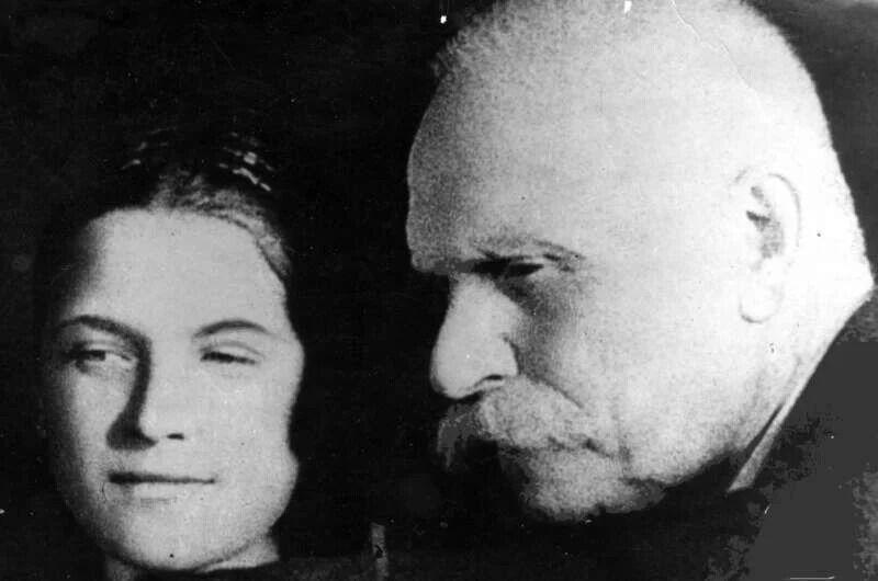 Борис Патон з дружиною Ольгою