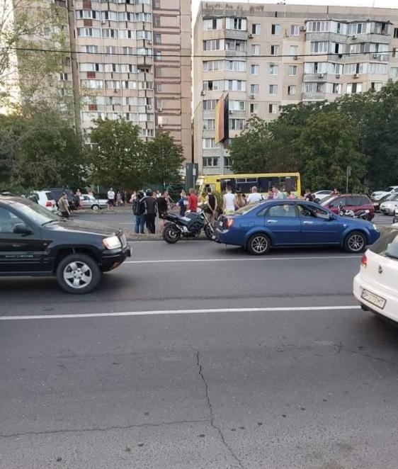 ДТП произошла на пешеходном переходе по улице Семена Палия