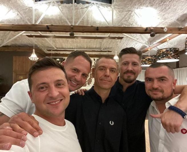 Міхалок викликав критику в мережі знімком із Зеленським