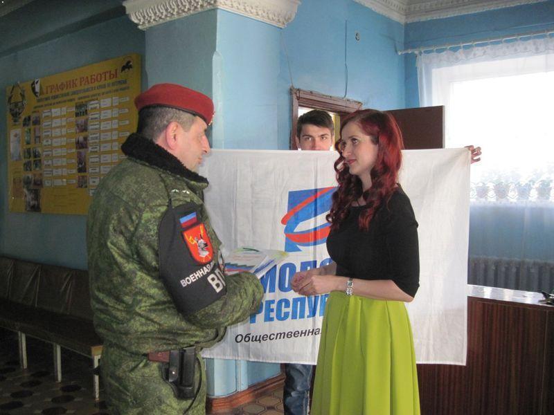 Бойовик Сааков з російською пропагандисткою