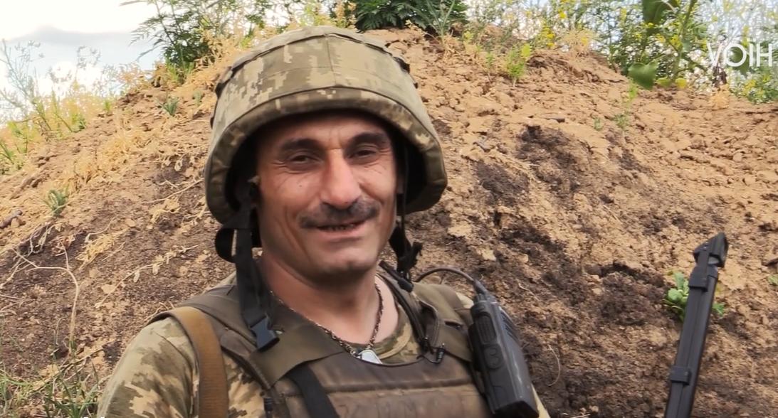 Армієць звернувся до рідного Закарпаття