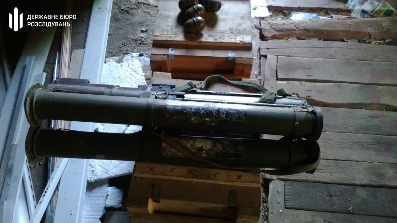 Вкрадені боєприпаси зберігалися в орендованому гаражі у Сєвєродонецьку.