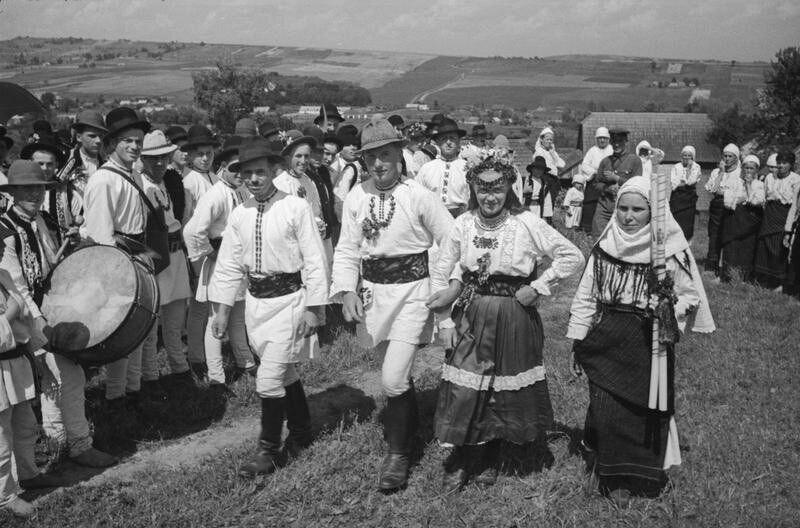 Весілля на Буковині, 1940 рік