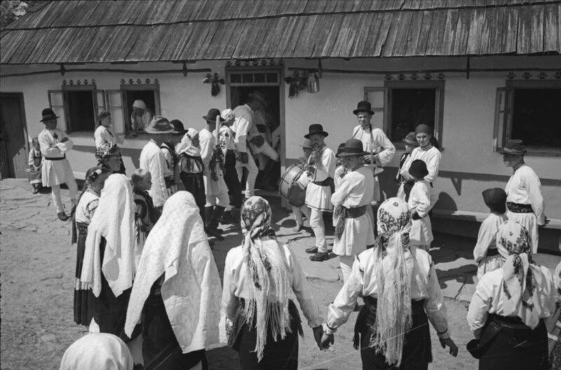Буковинське весілля у роки Другої світової війни