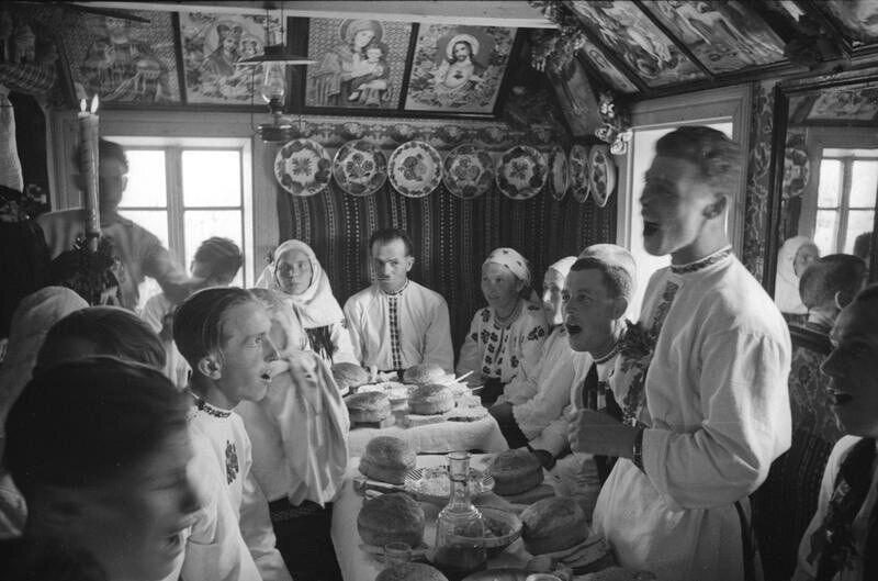 Святкування весілля на Буковині