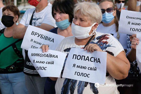 На підконтрольній території Донбасу виступають за можливість голосування на виборах