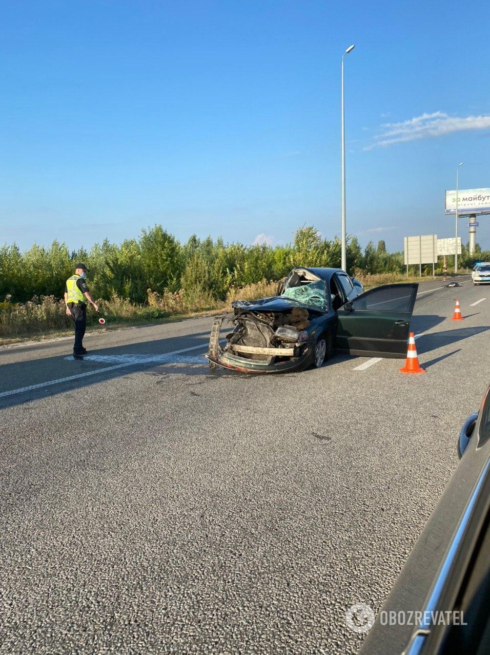 Під Києвом загинув капітан поліції