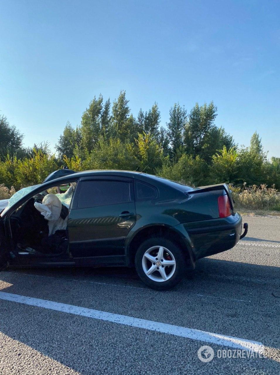 33-річний чоловік їхав на власному автомобілі