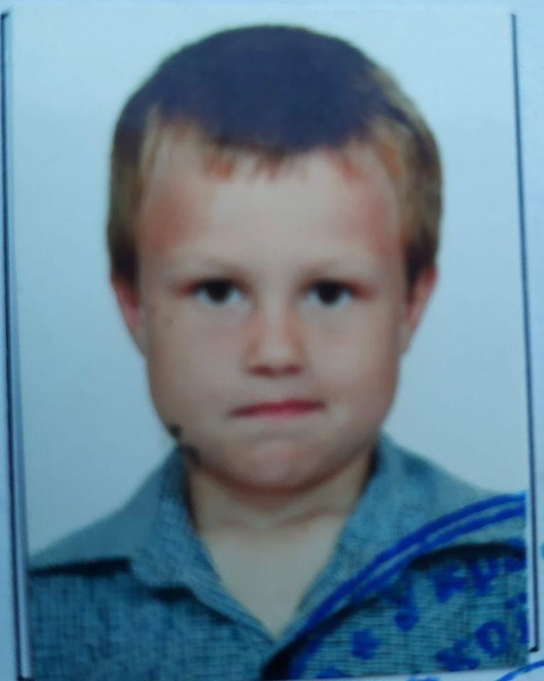 8-летний Андрей Чабан пропал 20 августа