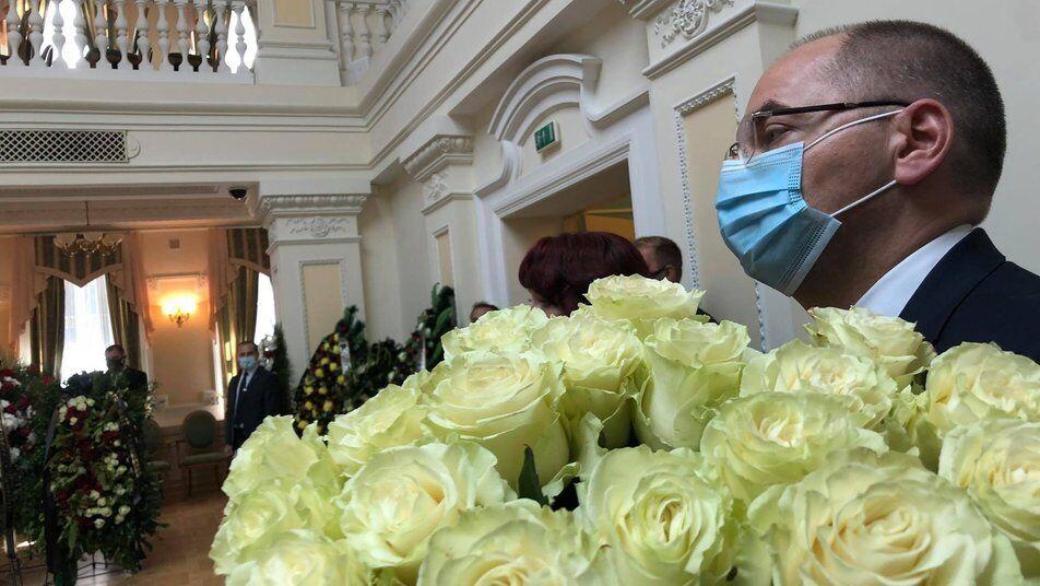 Попрощатися з Борисом Патоном прийшов Максим Степанов