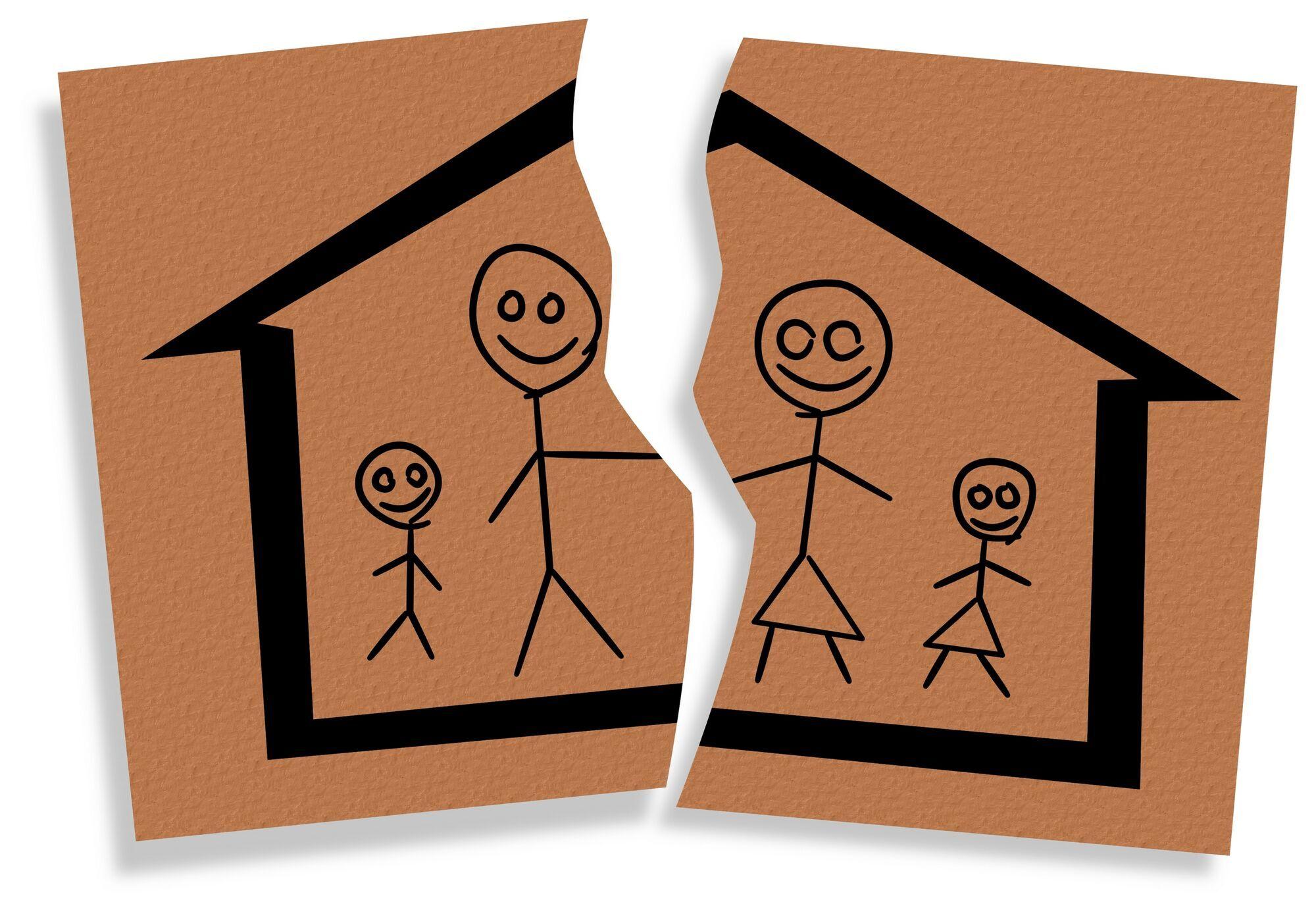 Дети не должны участвовать в разводе