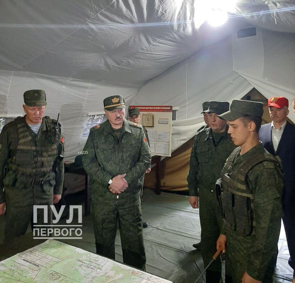 Лукашенко в Гродно
