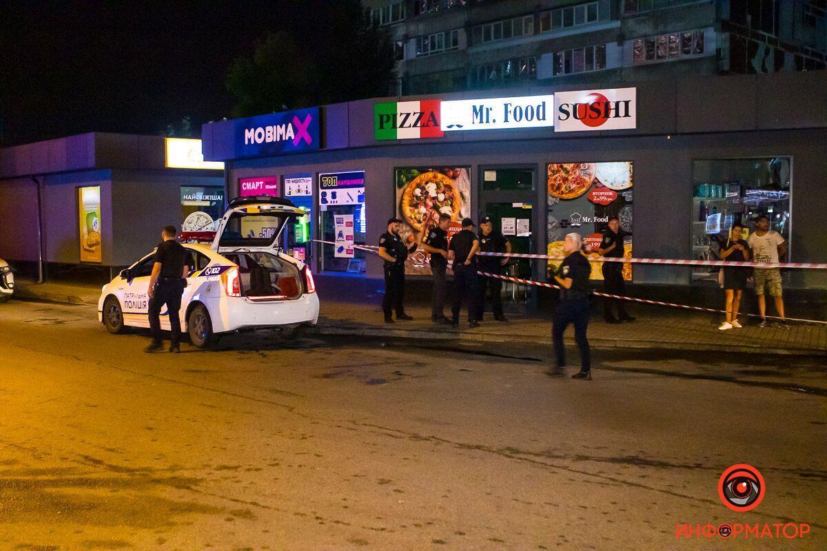 У Дніпрі п'яний чоловік влаштував стрілянину на ринку