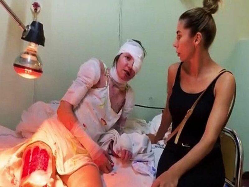Шаповалова в лікарні.