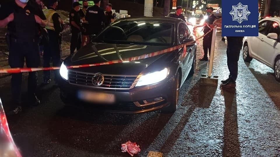В Киеве произошла погоня за вероятным похитителем авто