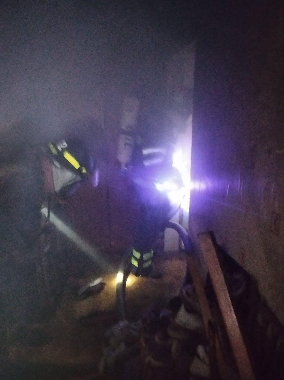 Пожар в Кривом Роге