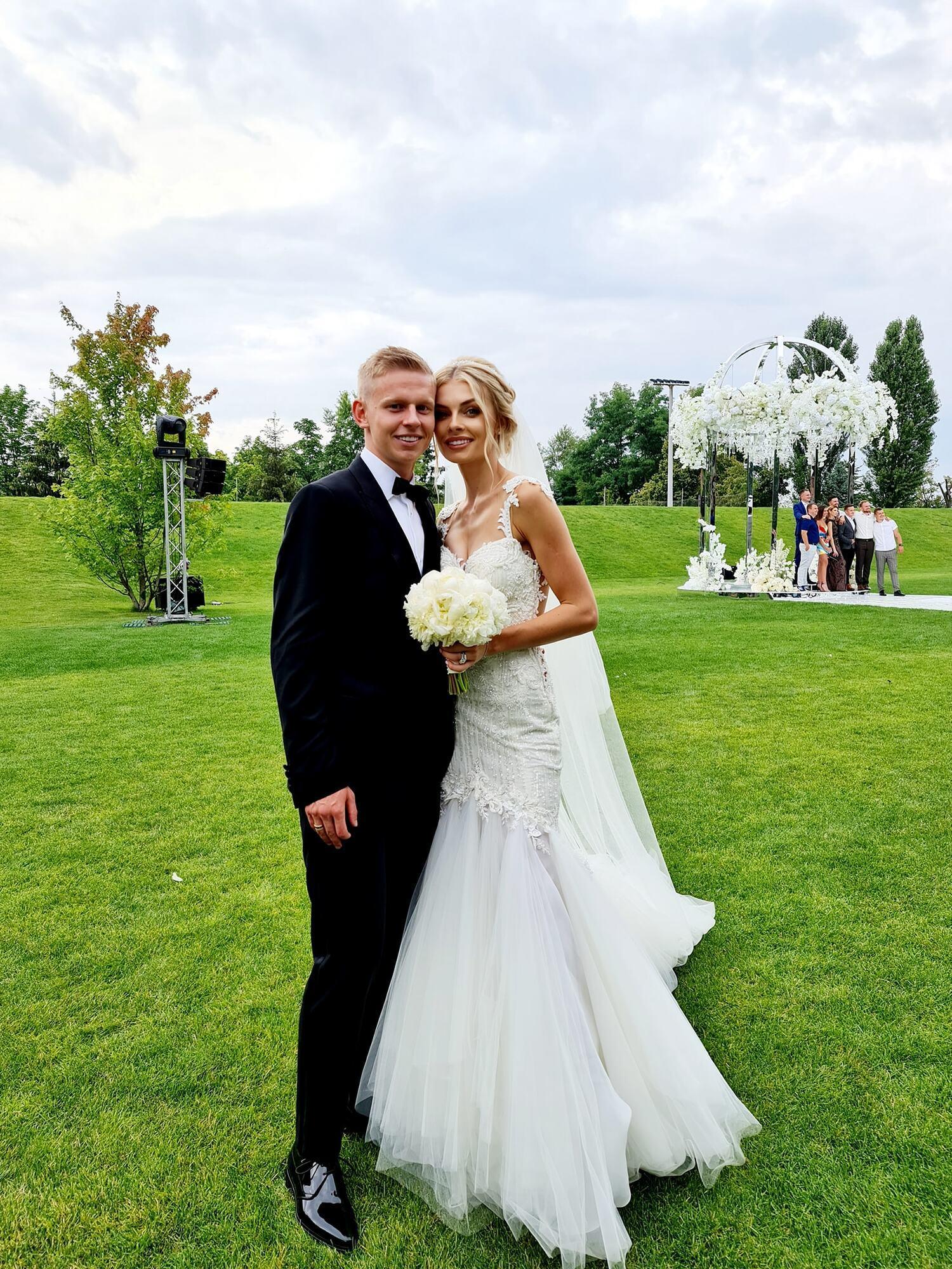Зінченко і Седан почали зустрічатися навесні минулого року.