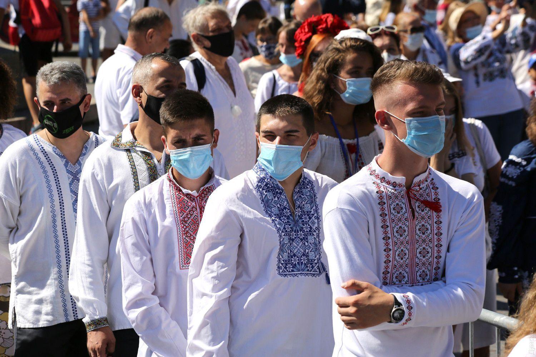 Одесситы надели вышиванки на День Независимости