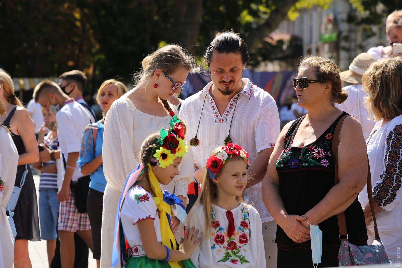Одесситы почти весь день праздновали День Независимости