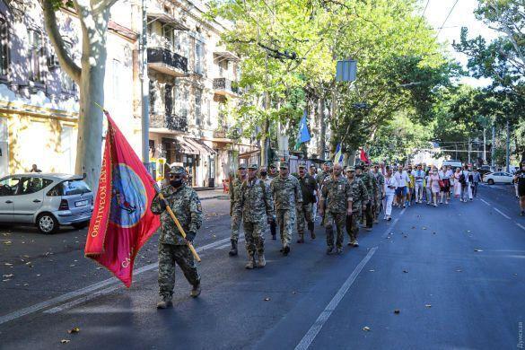 Марш защитников в Одессе.