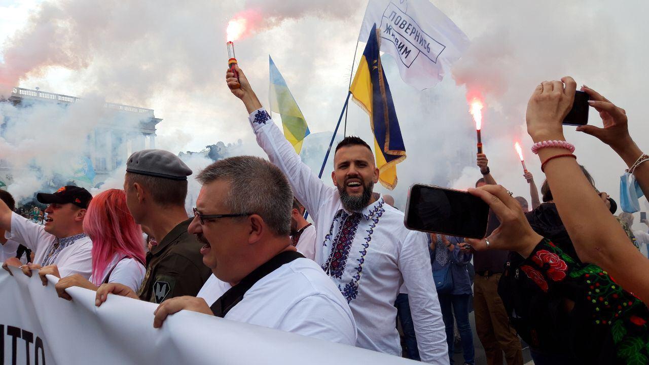 На марші помічений Максим Нефьодов