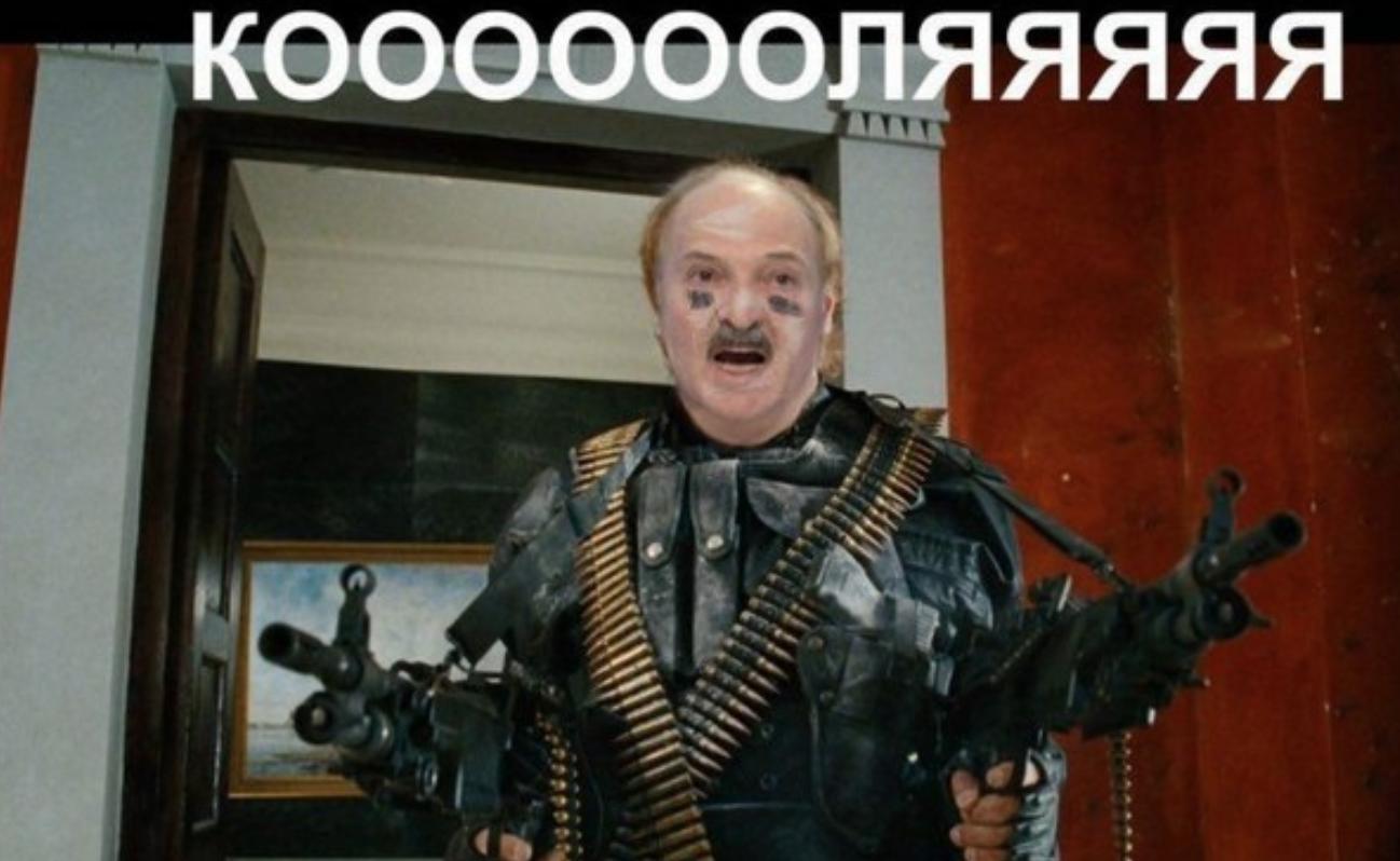 У мережі створюють меми про Лукашенка та його сина