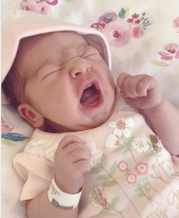 У Малишевої народилася внучка
