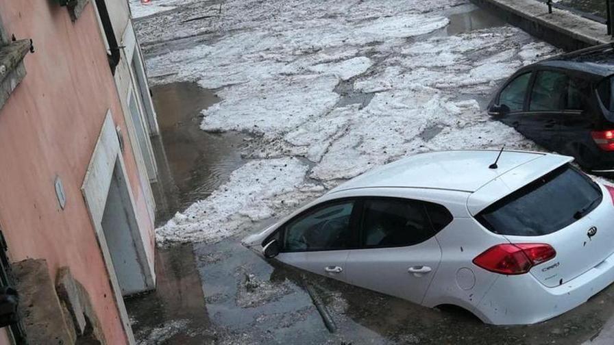 Последствия урагана в Вероне.