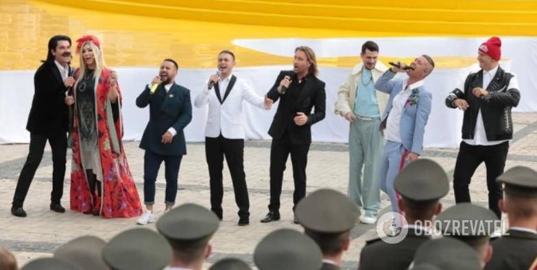 Попурри украинских звезд