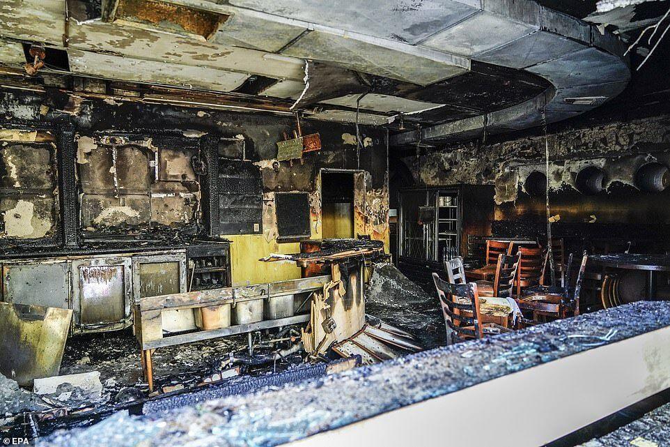 Під час заворушень у Кеноші спалили декілька будівель