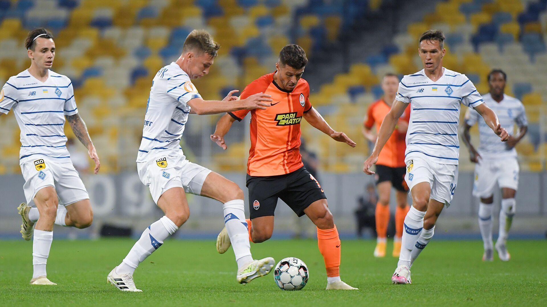 Мораес сравнял счет в матче за Суперкубок-2020