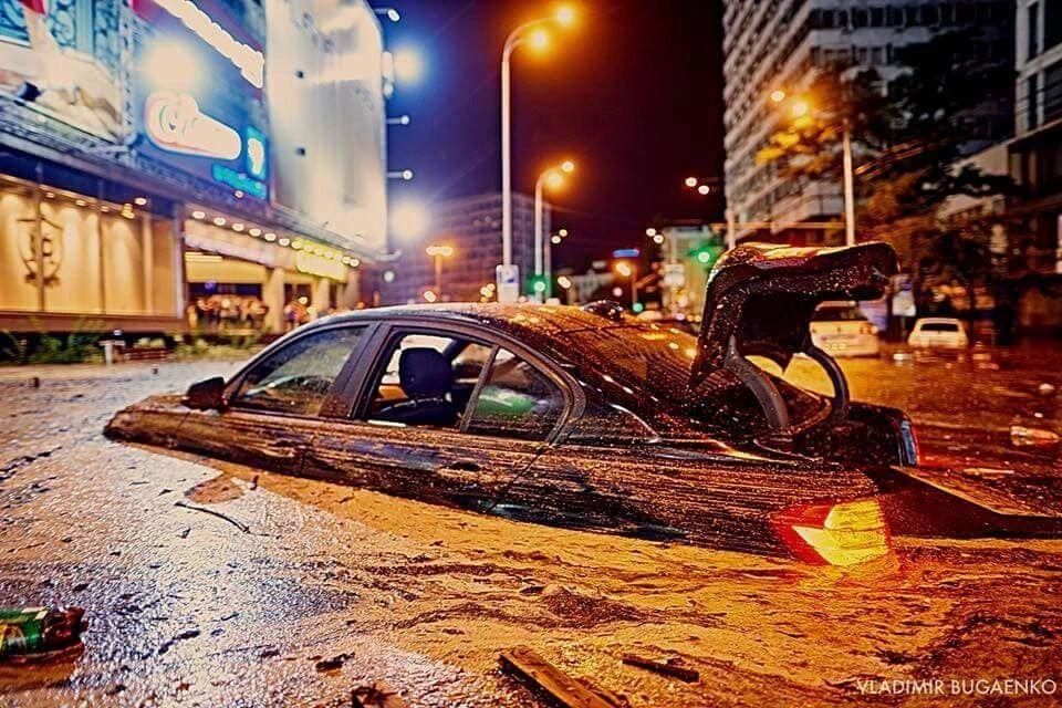 """Потоп у 2018 році біля """"Гулівера"""""""