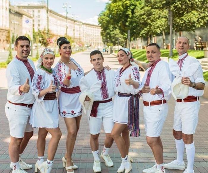 Дмитро Волканов на День Незалежності