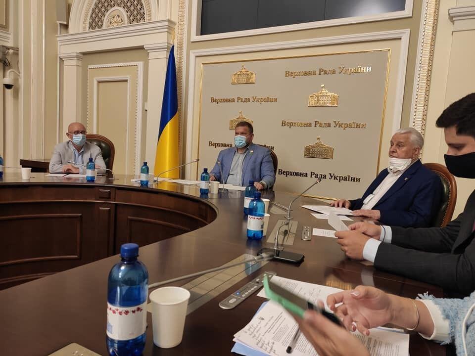 Закрытая встреча с Кравчуком в ВРУ
