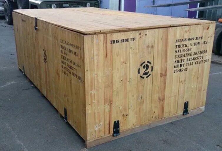 Незвичайний ЛуАЗ-969М продають в дерев'яній коробці.