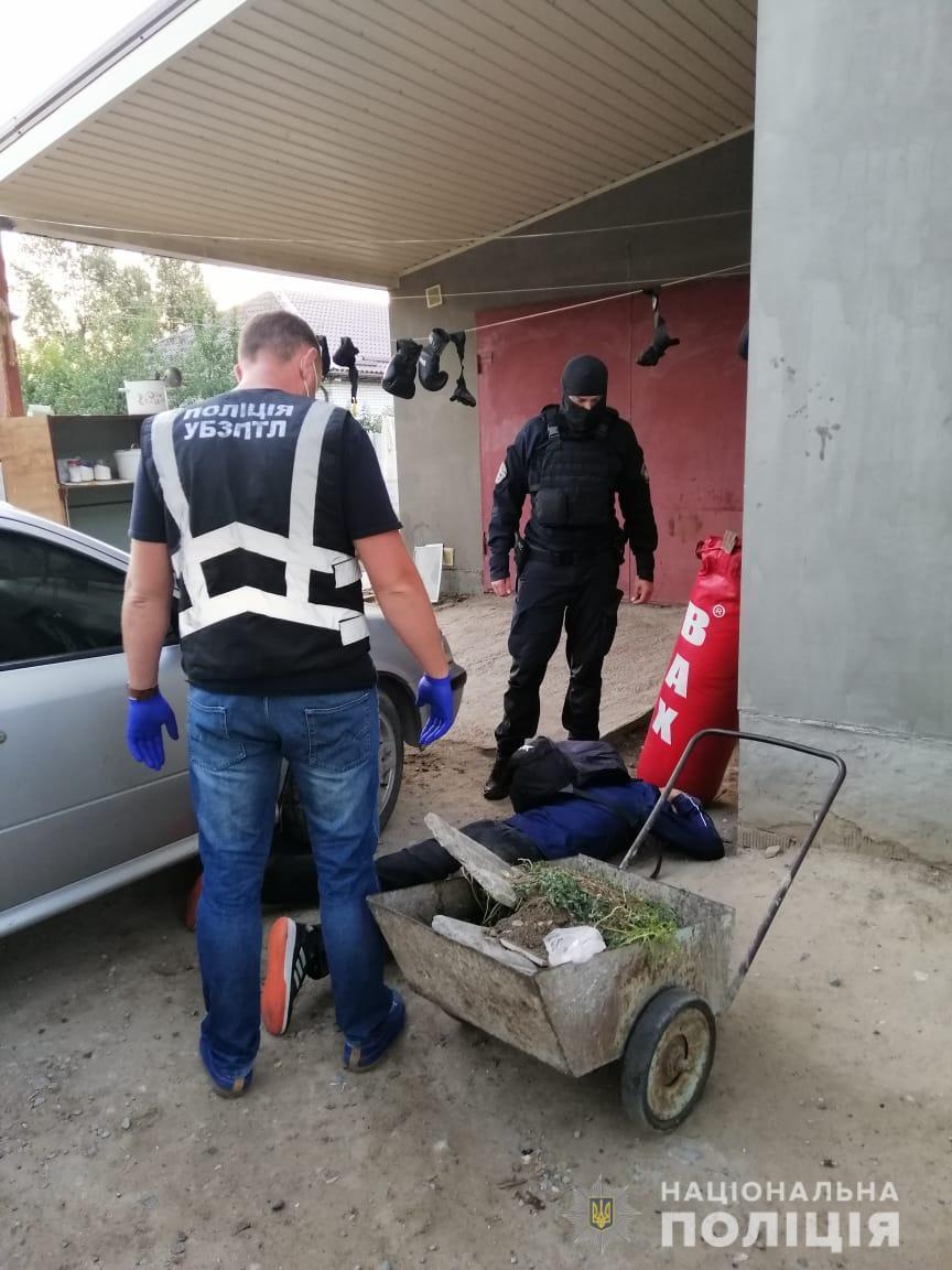 Затримання пройшло за участю батальйону поліції спеціального призначення