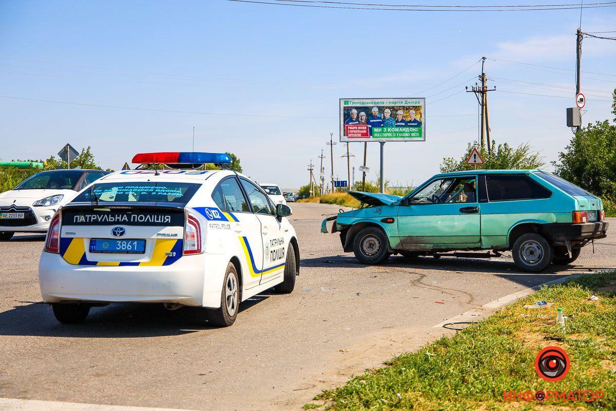На місці працювали патрульні і слідчий з ДТП