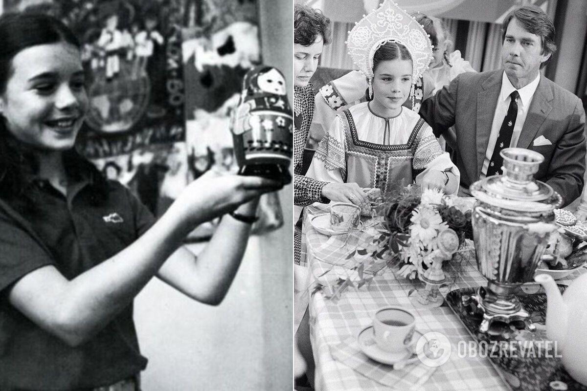 Подарки, которые вручили американской школьнице во время визита в СССР