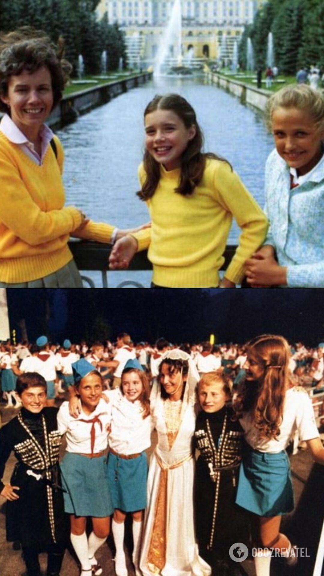 """Летом 1983-го юная американка посетила лагерь """"Артек"""" в Крыму"""