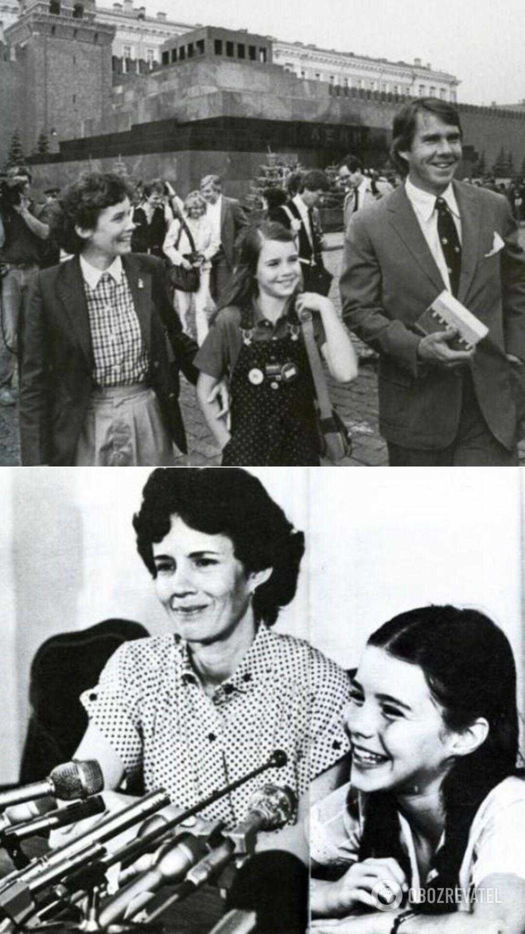 В СССР Саманта поехала с родителями