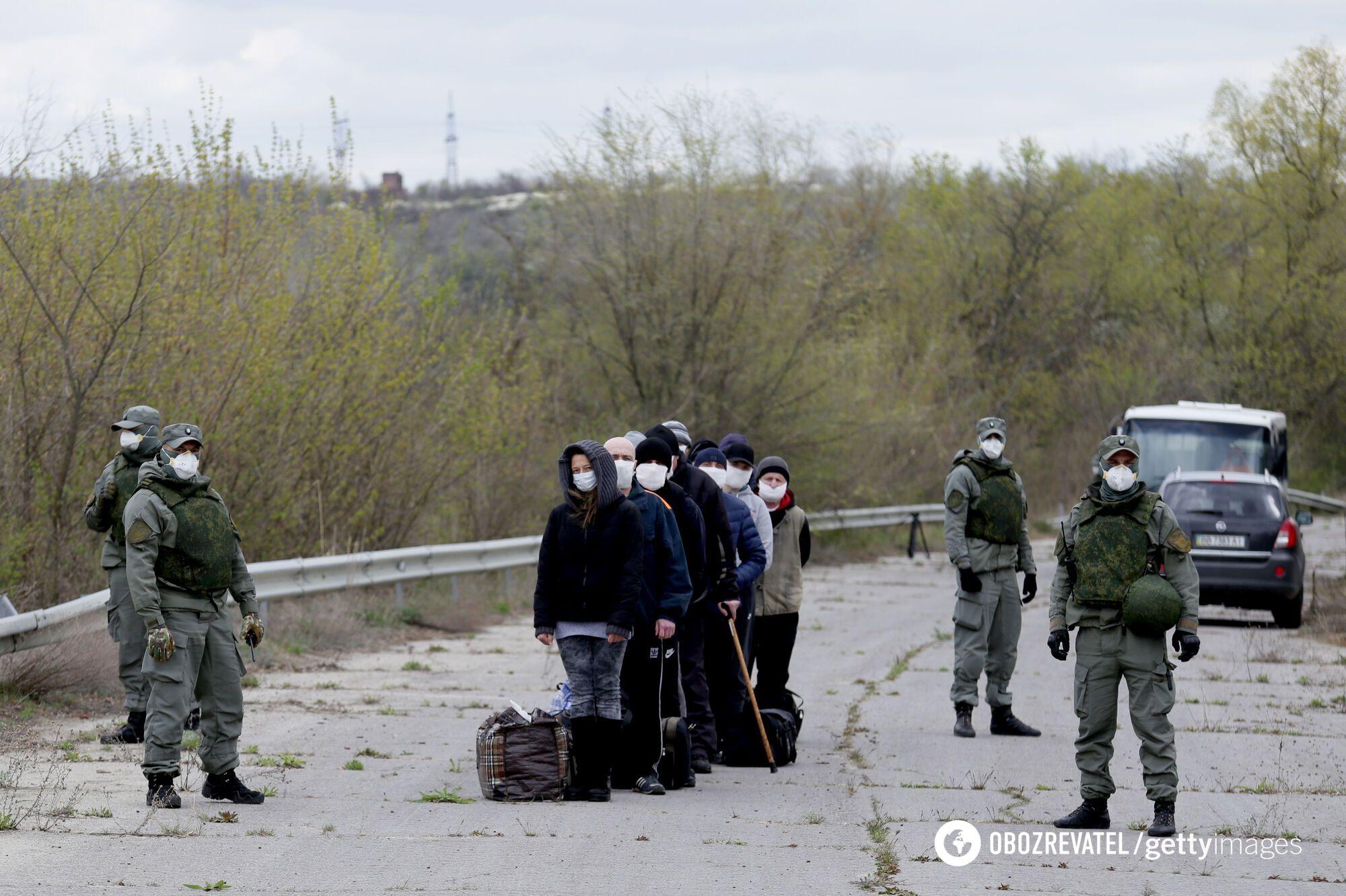"""Последний обмен """"удерживаемыми лицами"""" произошел 16 апреля"""