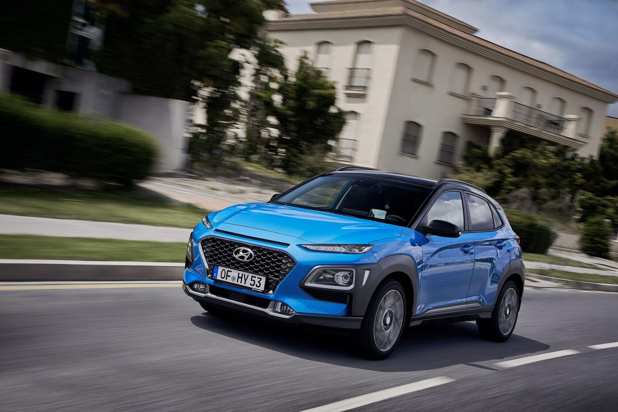 Hyundai Kona предлагается на украинском рынке с 2019 года. Фото: